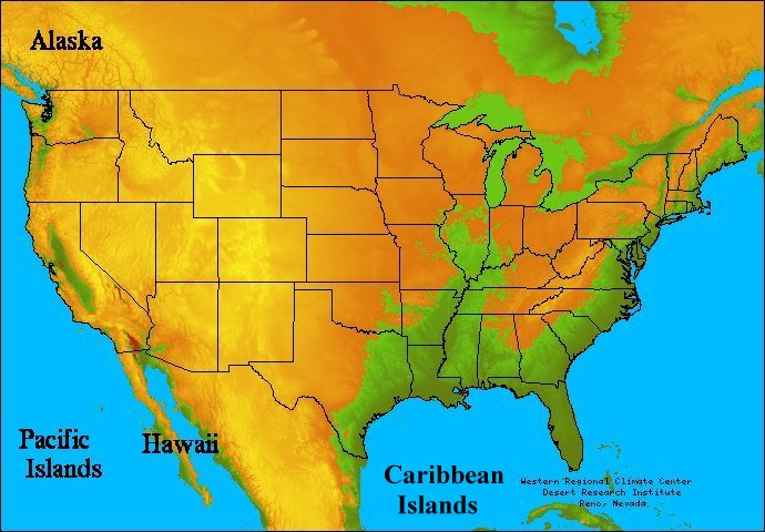 Climate Zones Usa Images Reverse Search - Us map climate zones